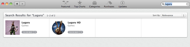 Which Lugaru is the real deal? If you downloaded them both, they would be identical.