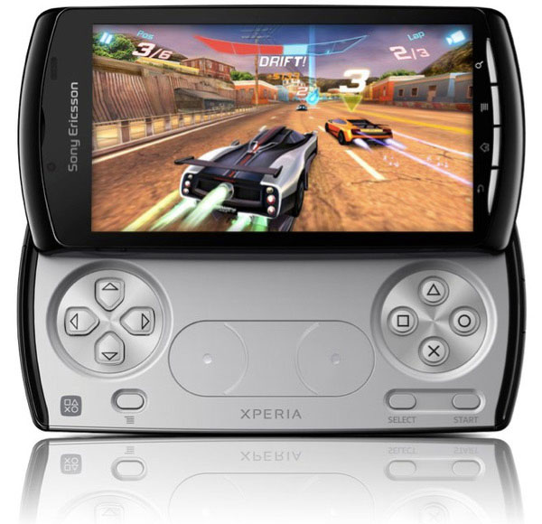 Xperia Play phone a mash up of Android, PlayStation games