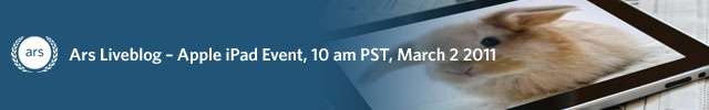 Liveblog: Apple's March 2 iPad event