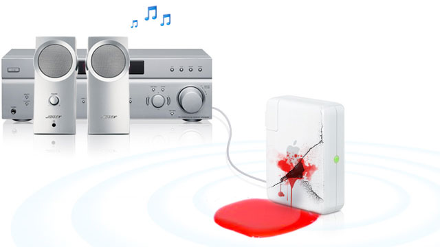 ShairPort emulates AirPort Express to receive AirPlay