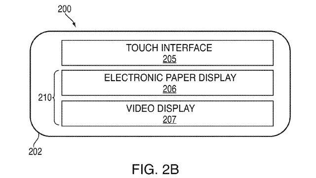 Apple exploring hybrid e-ink/LCD display for iDevices
