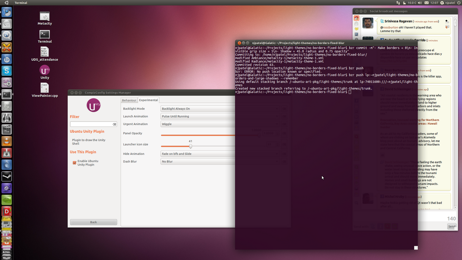 Unity environment in good shape, on track for Ubuntu 11.04