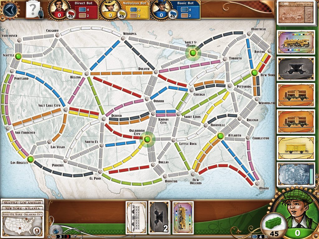 Review: Ticket to Ride on iPad a high-quality port of board ...