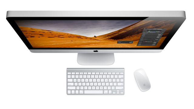 Apple adds Thunderbolt, faster processors to iMac line