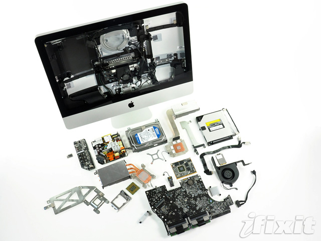 Newest iMacs have removable GPU, ambient light sensor