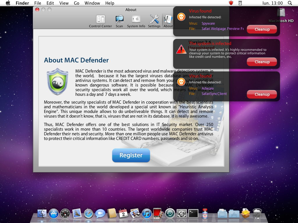 mac defender alert intego - Life After VPN for Canada