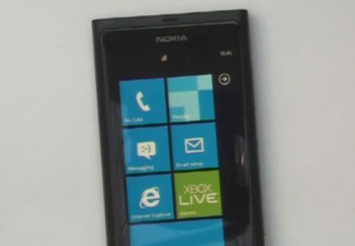 The first Windows Phone 7 handset to come from Nokia