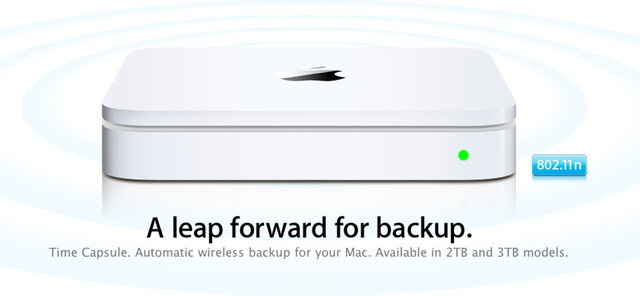 Apple releases 2TB and 3TB Time Capsules, new Airport Extremes