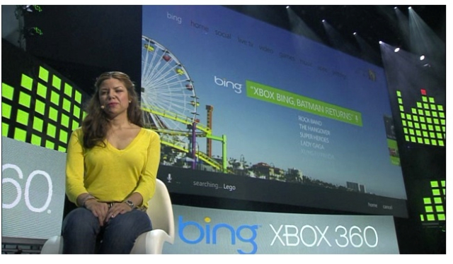 Xbox 360 getting live TV, voice-based Bing searching this fall