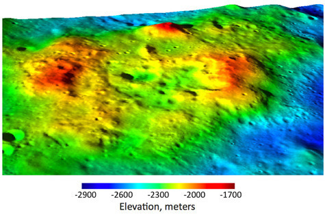 Lunar orbiters find most recent volcanos on dark side of the Moon