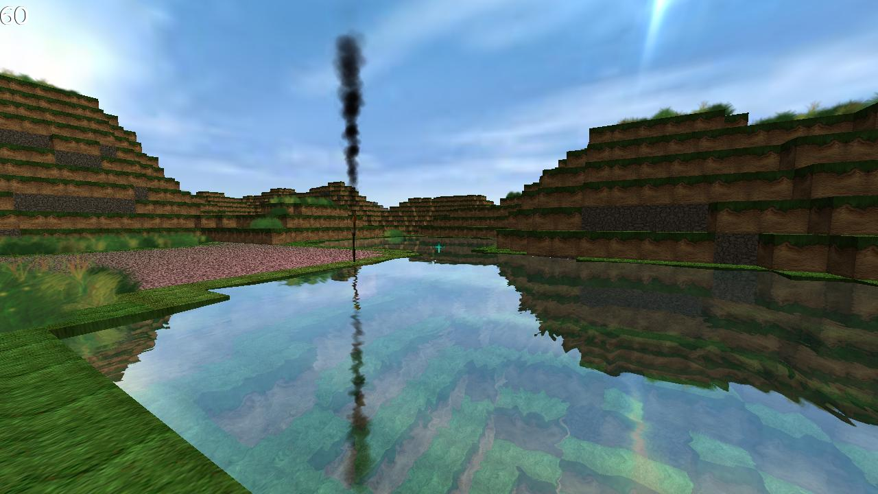 Living under a blocky shadow: the world of Minecraft clones