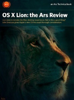 Ars Technica OS X Lion review e-book, PDF available