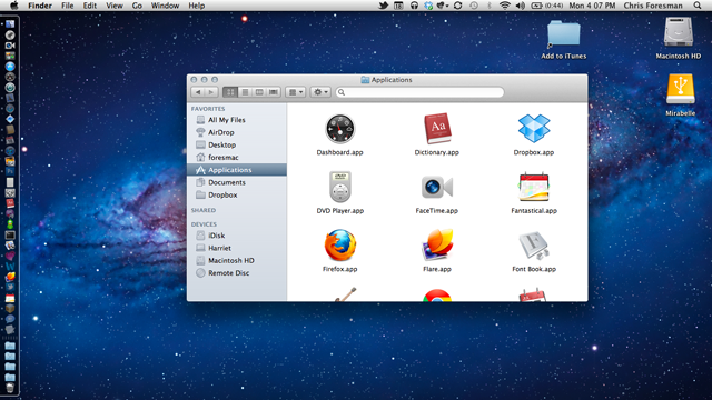 Mac OS X Lion: a screenshot gallery