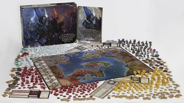 Conquest Of Nerath Takes D Amp D Board Gaming To An Epic Scale