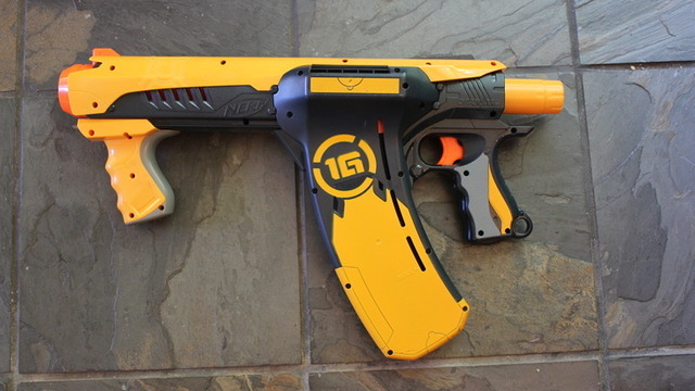 The Nerf Dart Tag Quick 16 carries a ton of darts, is impressive on the …