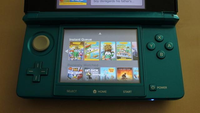 Netflix released for Nintendo 3DS today, we go hands-on