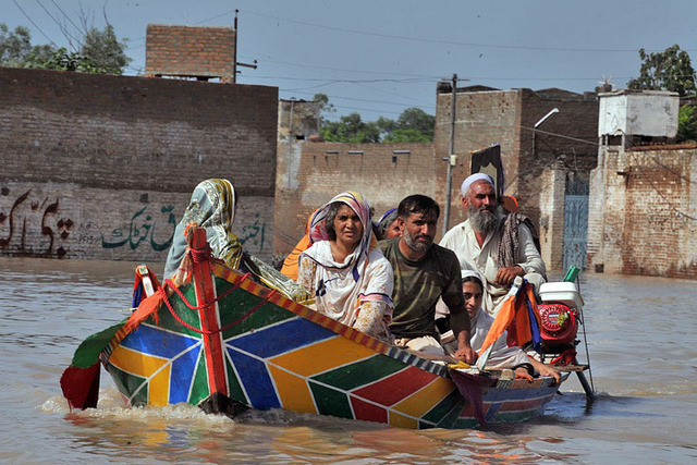 Flooding in Pakistan during Russian drought was no coincidence