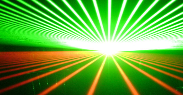 Making electrons dance with a really big laser