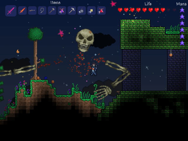 Terraria on the PC makes confusion addictive