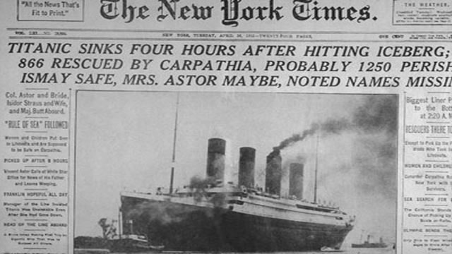 How The Titanic Disaster Pushed Uncle Sam To Rule The Air
