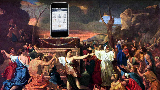 Forget Dagon, Baal, and Asherah: smartphones are the new idols