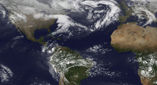 Storm tracks are heading for the poles, satellite data suggests