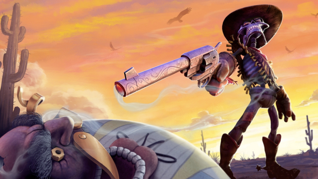 Cowboy on a string: a look at Twisted Pixel's The Gunstringer for Kinect