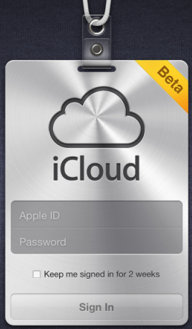 iCloud beta appears online along with prices for storage upgrades