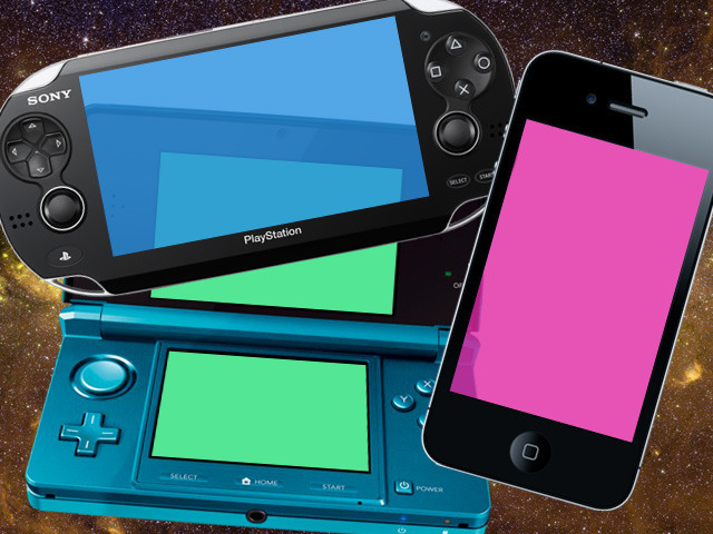 Biggest threat to the 3DS and PlayStation Vita? Your smartphone