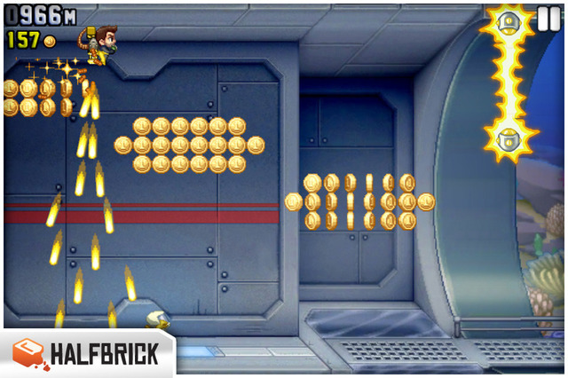 Jetpack Joyride: my machine gun is a jet pack, your argument is invalid
