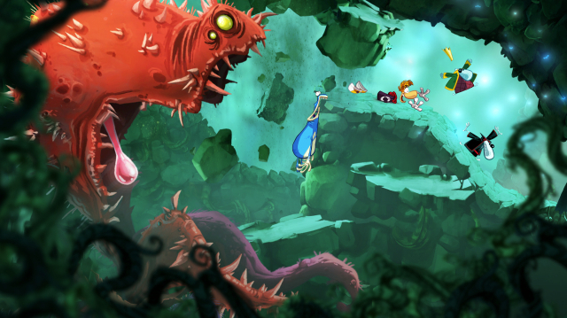 Rayman's beautiful comeback: hands-on with Rayman Origins