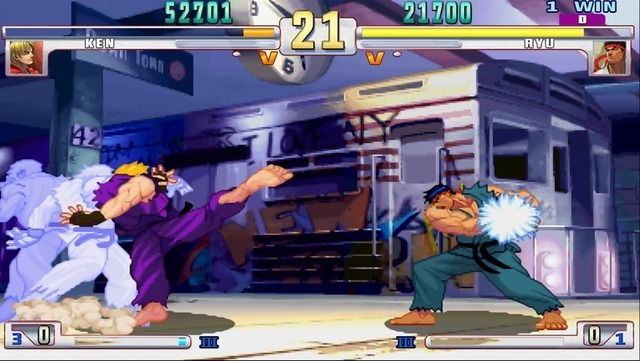 Street Fighter 3: Third Strike Online Edition is living history on the PS3 and 360