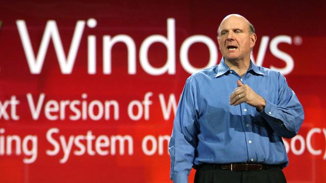 Steve Ballmer: We are