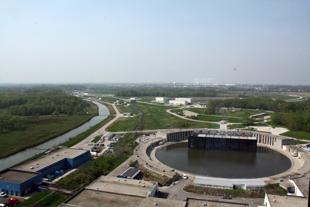The Tevatron at the Chicago-area Fermilab