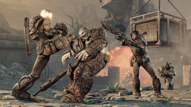 The dreams in which I'm dying: Ars reviews Gears of War 3
