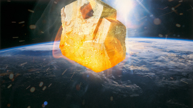 Terminal bombardment put the bling in Earth's crust