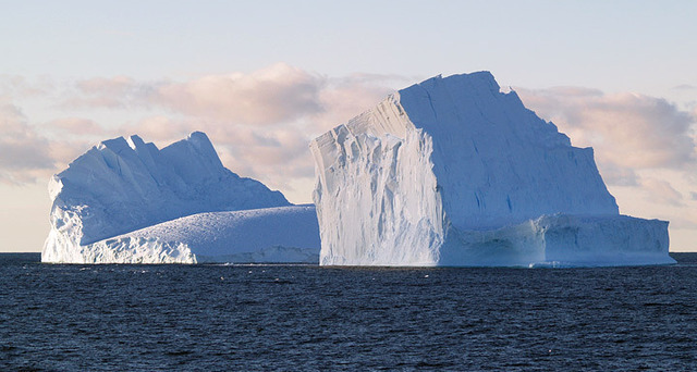 Liberated icebergs messing with Antarctic biodiversity