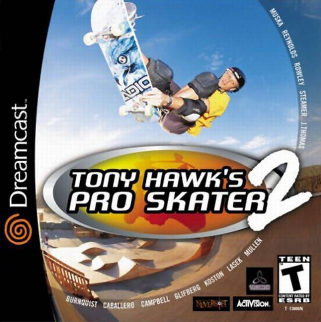 Masterpiece: Tony Hawk's Pro Skater 2 for the Dreamcast