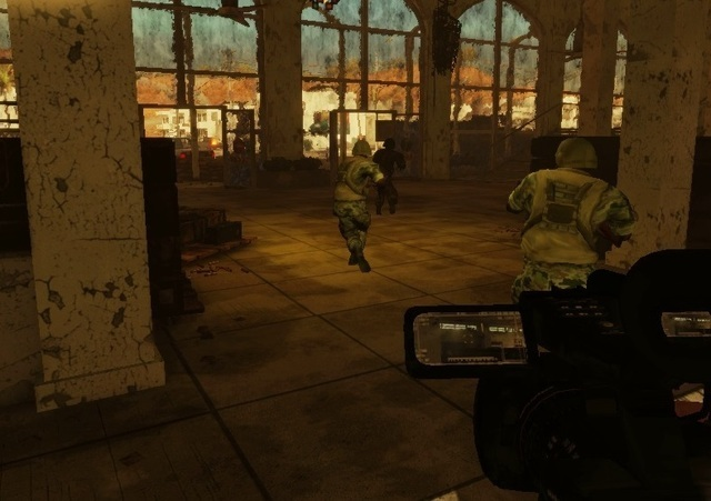 Warco: an FPS where you hold a camera instead of a gun