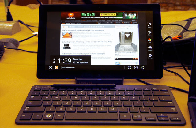 Hands-on with Windows 8: A PC operating system for the tablet age