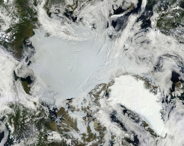 Cold temperature inversions actually help warm the Arctic