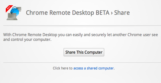 Hands-on: Chrome Remote Desktop Beta free and easy to use, no speed demon