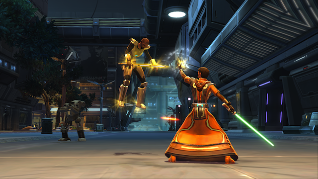 Playing the Star Wars: The Old Republic beta—the birth of a Jedi knight