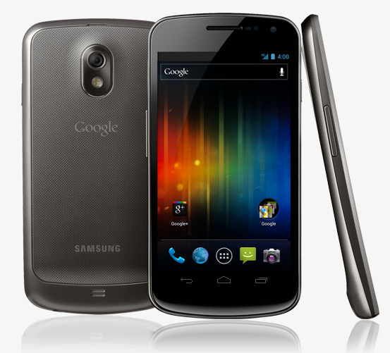 Google and Samsung unveil Galaxy Nexus, Android 4 at event