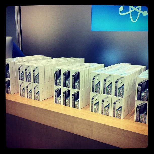 That's a Lot of iPhone 4S!