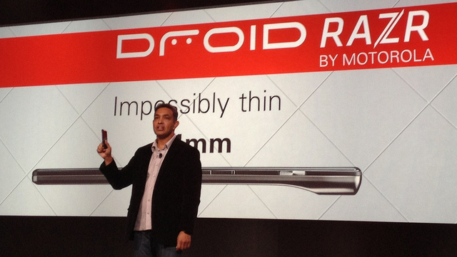 Droid Razr smartphone makes its debut with a host of new services