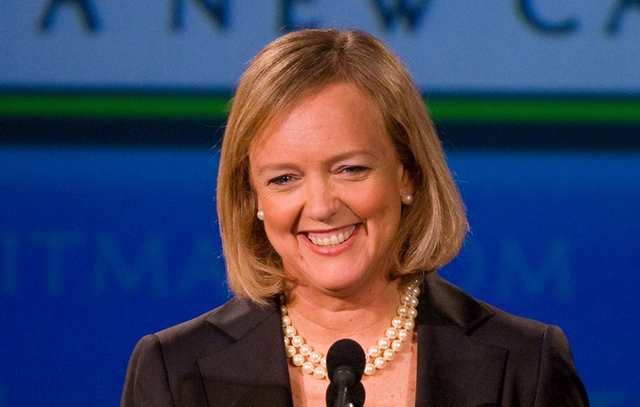Meg Whitman is HP's CEO.