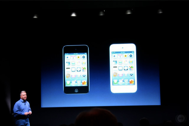 New iPod touch: cheaper, iOS 5, and now in white!