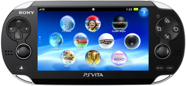 Sony's newest portable, the PS Vita, will ship on February 22 in the US