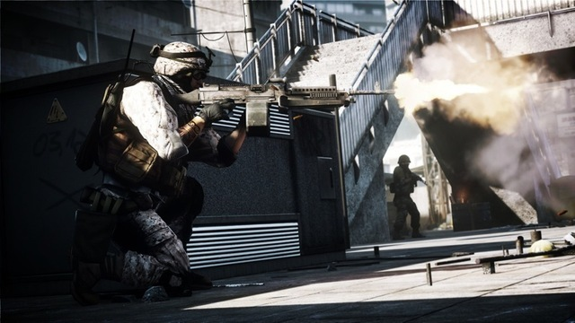 Battlefield 3 has a single-player campaign... unfortunately